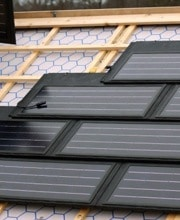Tuile panneau solaire