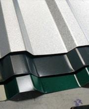 Plaques de toiture en forme de trapèze