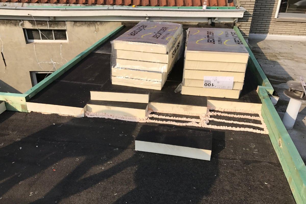 fuite toiture isolation